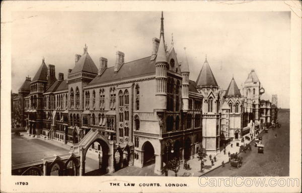 The Law Courts London England