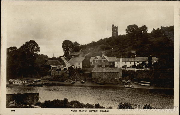 River Yealm Noss Mayo England