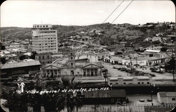 General View of Town Nogales Mexico