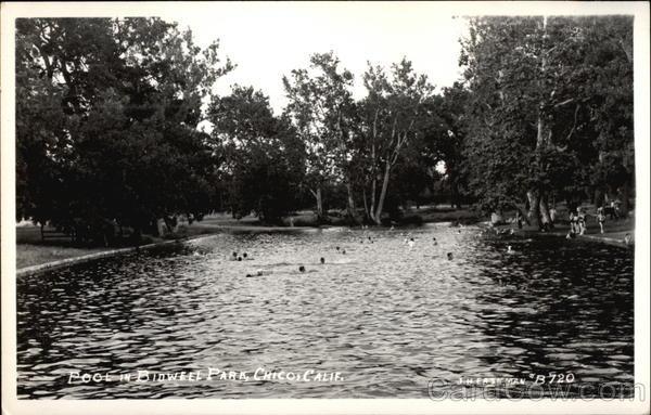 Pool in Bidwell Park Chico California