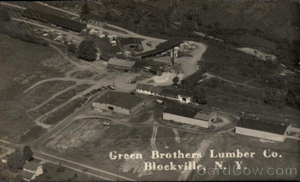 Green Brothers Lumber Co Blockville New York