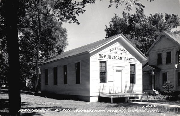 Birthplace of the Republican Party Ripon Wisconsin