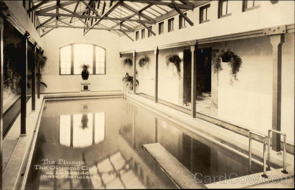The Olympic Club at Lakeside - The Plunge San Francisco California