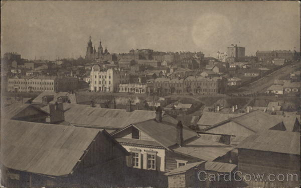 View of Khabarovsk 1918-1919 Russia