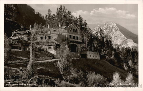 Hitler's Homa and Watzmann Mountain Berchtesgaden Germany