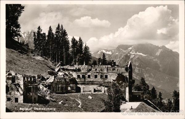 The Berghof Obersalzberg Berchtesgaden Germany