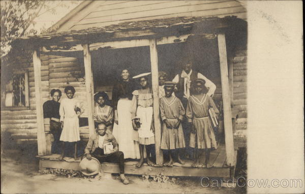 Rural Black Family Black Americana