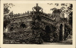 North and East Front of Grotto Postcard