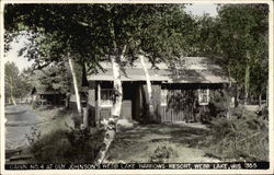 Cabin No.4 at Guy Johnson's Webb Lake Narrows Resort