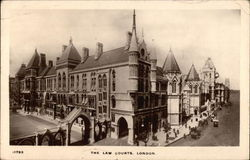 The Law Courts Postcard