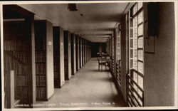 Cambridge University Library: Typical Book Stack, Floor 4 Postcard