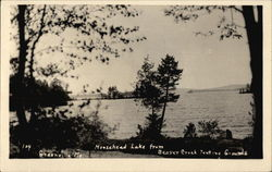 Moosehead Lake from Beaver Creek Tenting Grounds