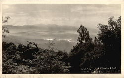 Lake Arrowhead from Green Valley