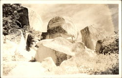 Rocks at Green Valley Postcard