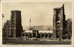 Cornell University - War Memorial Towers and Men's Dormitory