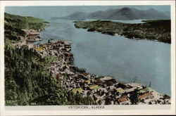 Aerial View of Ketchican, Alaska