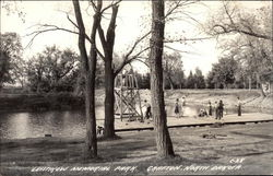 Leistikow Memorial Park Postcard