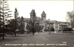 Administration Bldg., State Hospital Postcard