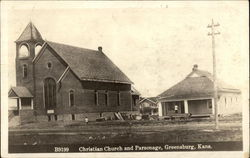 Christian Church and Parsonage