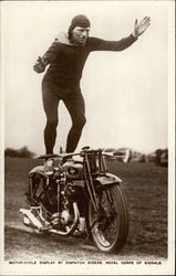 Motor-cycle display by Dispatch Riders