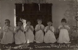 Christmas Greeting, Deaconess Baby Fold