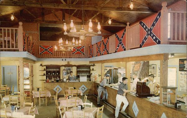 Interior of the Lady Gay Saloon, Rebeltown Pigeon Forge Tennessee