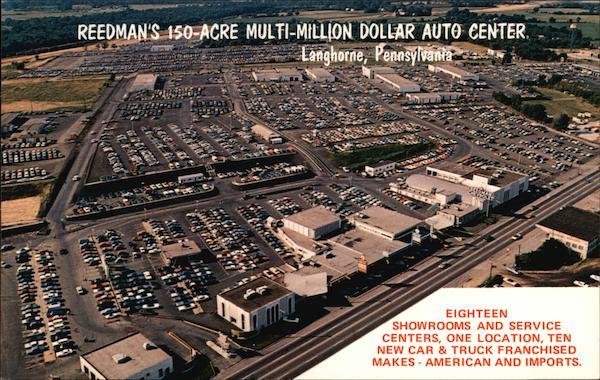 Reedman Toll Service >> Reedman Corporation's Reedman Auto Mall Langhorne, PA