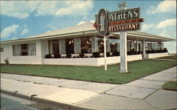 Athens Restaurant North Wildwood New Jersey