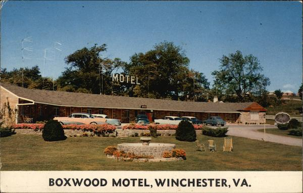 Boxwood Motel Winchester Virginia