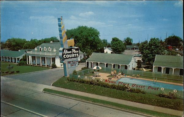 Alamo Plaza Hotel Courts Nashville Tn