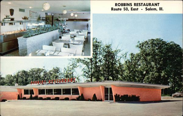 Robbins Restaurant Salem Illinois