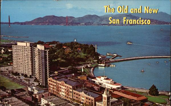 The Old and New San Francisco Bay California