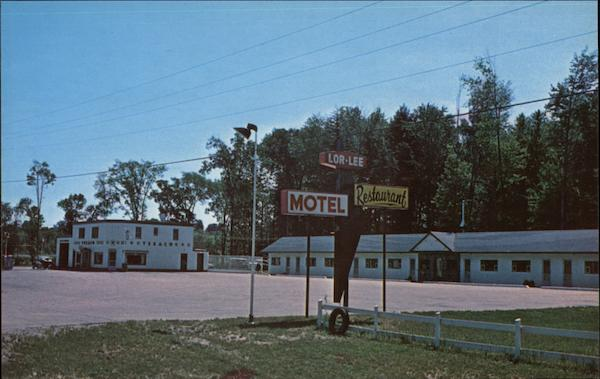 Lor-Lee Motel & Texaco Service Station Barrie Canada