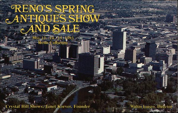 Reno's Spring Antiques Show and Sale Nevada
