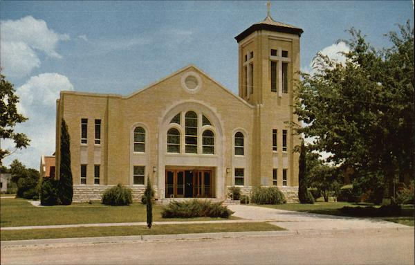 Saint Rose of Lima Church Schulenburg Texas Tiny Davis