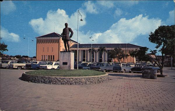 Post Office Curacao Netherlands Antilles Caribbean Islands