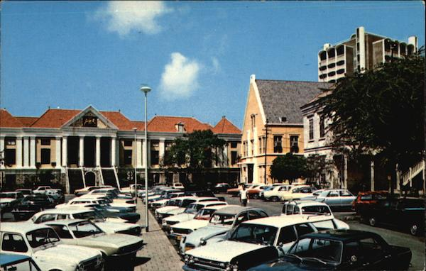 Municipal Building Curacao Netherlands Antilles Caribbean Islands