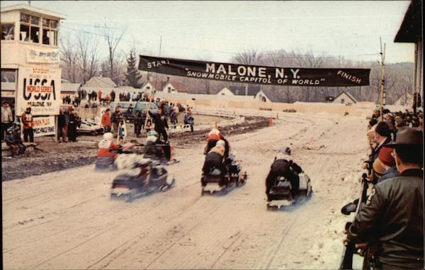Snowmobile Capital Of The World Malone Ny