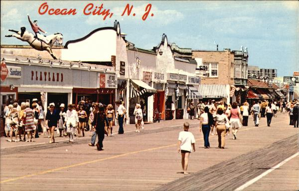 Boardwalk Ocean City New Jersey