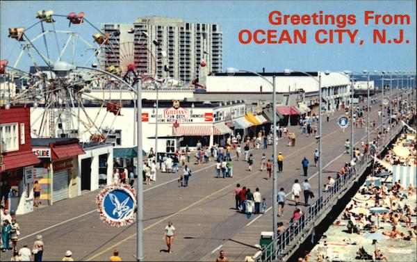 Greetings From Ocean City New Jersey