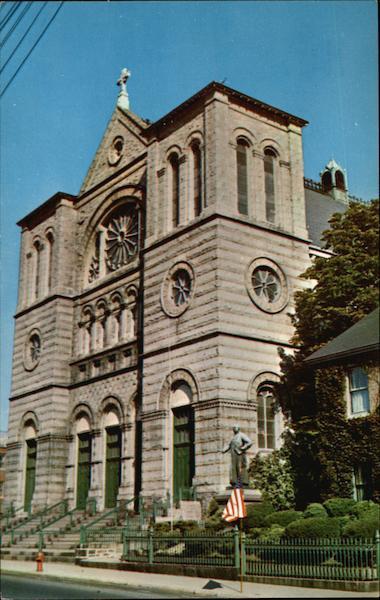 St John The Baptist Roman Catholic Church Lowell MA