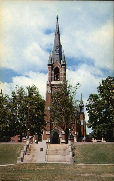 St. Mary's Catholic Church Manchester New Hampshire