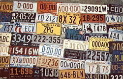 The Automobile License Plate Collectors Association Postcard