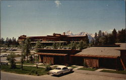Cottages at Jackson Lake Lodge - Grand Teton National Park Postcard
