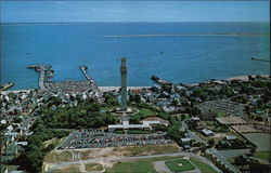 Aerial View of Provincetown, Cape Cod