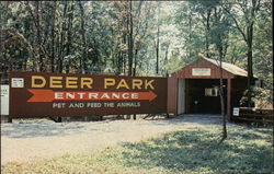 Deer Park Entrance, Gobblers Knob Postcard
