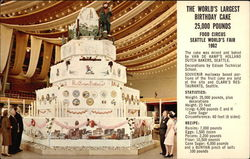 The world's largest birthday cake