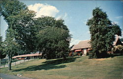 The Oxbow Motel and Restaurant Postcard