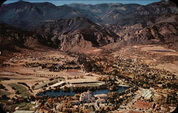 Aerial View of Broadmoor Hotel