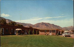 Glacier View Motel Postcard